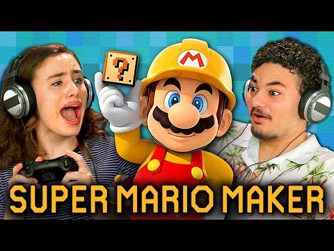 SUPER MARIO MAKER (Teens React: Gaming)