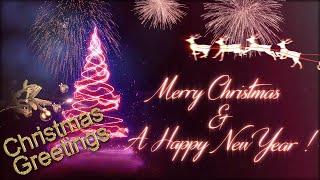 #MerryChristmas wishes animation | Christmas greetings video 2020 | Merry Christmas whatsapp status