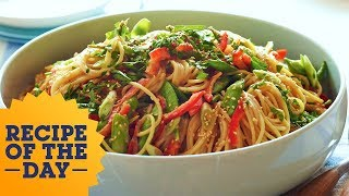 Recipe of the Day: Ina's Crunchy Noodle Salad   Food Network