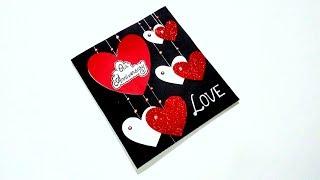 Special Anniversary Card Idea for Husband | Beautiful Handmade Anniversary Card | Tutorial