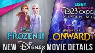D23 Expo 2019 | FROZEN 2 and NEW Disney/Pixar Movie Details - Disney News - 8/25/19