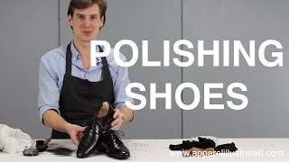 How to Polish Shoes (Using Old Stockings Trick)