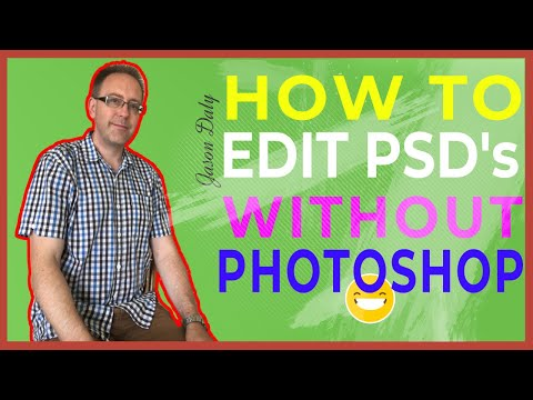 ✅How To Edit Psd Files Without Photoshop ❗(for FREE)❗