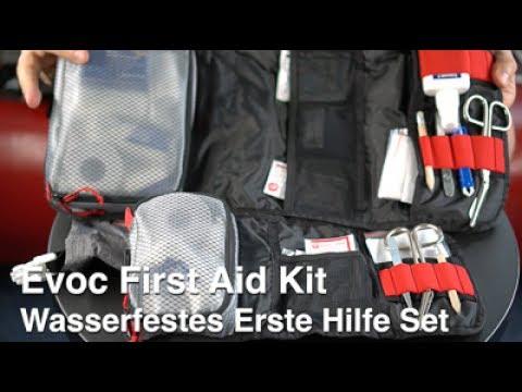 Evoc First Aid - Wetterfestes Erste Hilfe Set, ein Muss für den Outdoorbereich