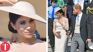 Meghan Markle And Prince Harry Make Their First Official Appearance Since The Royal Wedding - Video Youtube