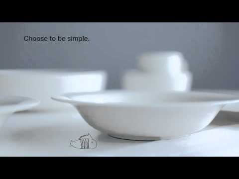 Youtube video about the Sarjaton collection by Iittala