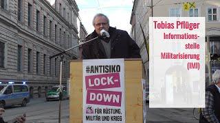 #Antisiko 20.2.2021 Rede von Tobias Pflüger IMI beim Bayerischen Hof in München