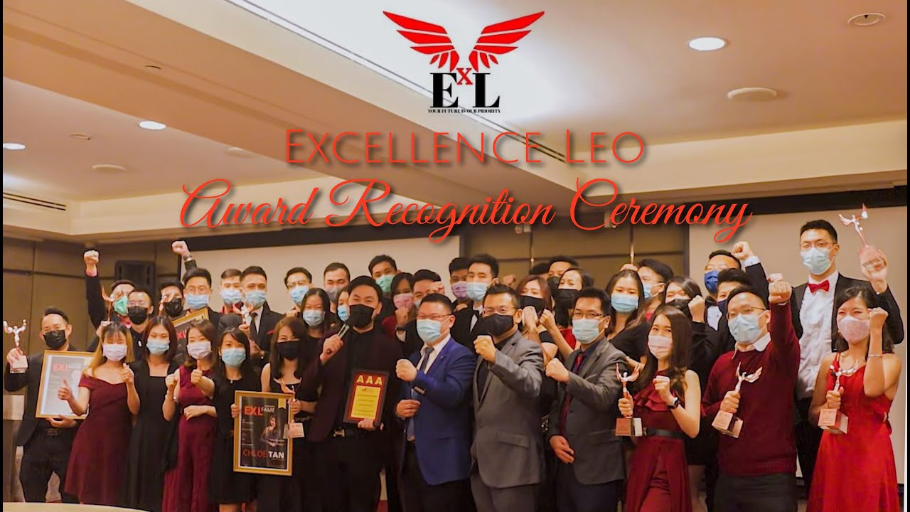 Excellence Leo | Award Recognition Ceremony