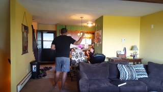 Richard dancing