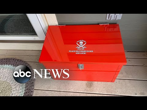 Creative ways to protect packages from porch pirates l ABC News
