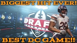 Madden 17 Draft Champions #51! Biggest Hit Ever! Most Insane Madden 17 Game I've Played!