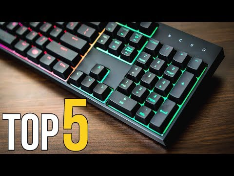 TOP 5: BEST Mechanical Gaming Keyboards for 2017! ($20-$200)