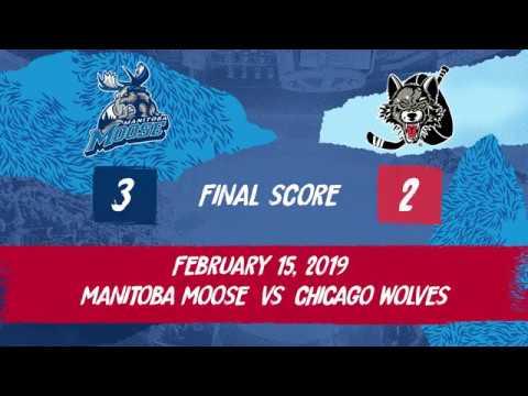 Wolves vs. Moose | Feb. 15, 2019