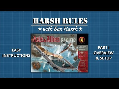 Harsh Rules - Learn to Play Axis & Allies Pacific - Part I