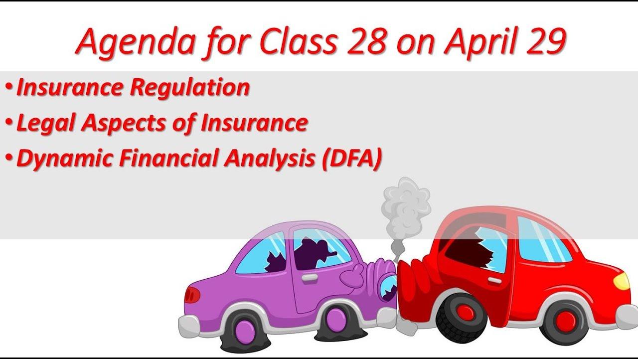 UTSA P&C Insurance Coverage Financing Class 28 April 29, 2021