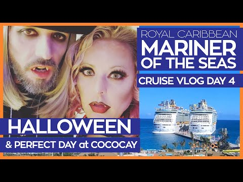 Mariner of the Seas | Halloween 2019 + Perfect Day at CocoCay | Cruise Vlog Day 4