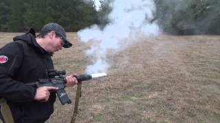 """Gun Grill"" M16 Bacon Cooker!"