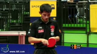 Pro Tour Austria Open. FINAL: MA Long CHN Vs ZHANG Jike