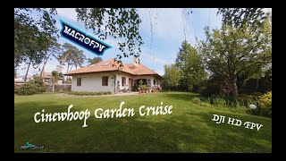 Cinewhoop backyard cruise - Cinematic FPV - DJI HD FPV