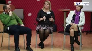 HR BRAND(em) ICF Konferencia - Szabó Gabi akcióban
