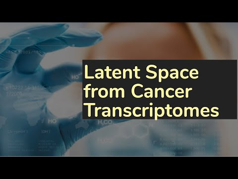 Extracting a Biologically Relevant Latent Space from Cancer Transcriptomes with Variational Autoencoders