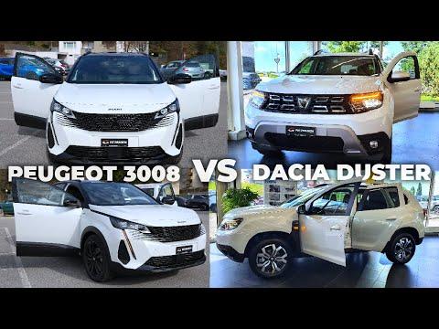 New Dacia Duster VS Peugeot 3008 Facelift 2022