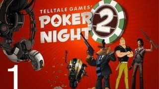 Let's Play Poker Night 2 [PC] [DE] Part 1 - POKER NIGHT IS BACK!