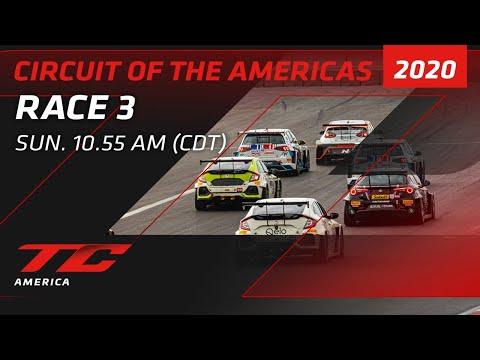 2020年 ブランパンGTワールドチャレンジ・アメリカ(COTA)TCR / TC / TCA レース3 レースライブ配信動画