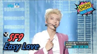 [HOT] SF9 - Easy Love, 에스에프나인 - 쉽다 Show Music core 20170429