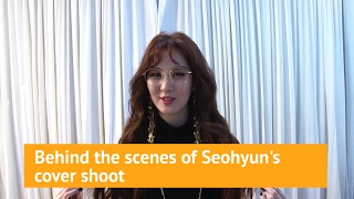 Behind the scenes of Seohyun