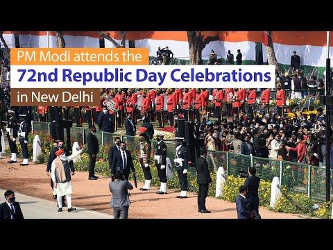 PM Modi attends the 72nd Republic Day celebrations in New Delhi | PMO