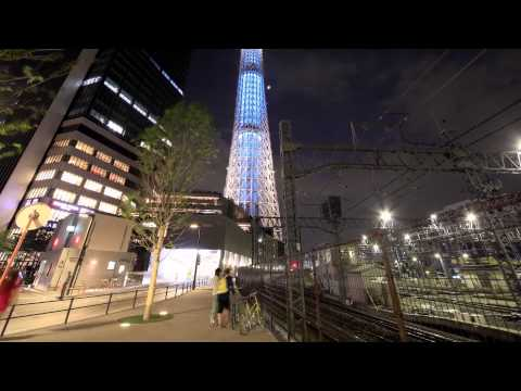 TOKYO SKY TREE. New Light of Tokyo.