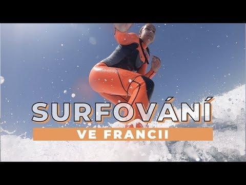 TÝDENNÍ VLOG #25 | SURFOVÁNÍ VE FRANCII!