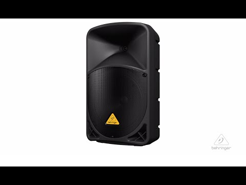 EUROLIVE B112D Active PA Speaker System with Wireless Option and Integrated Mixer image 1