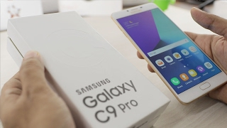 Samsung Galaxy C9 Pro Unboxing & Overview (Indian Unit)