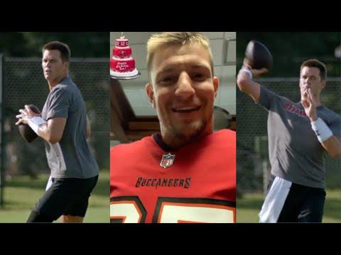 Tampa Bay Buccaneers Tom Brady GETS WORK On His 43rd Birthday
