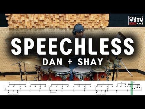 Dan, Shay - Speechless - 드럼커버(drum cover), 드럼악보(drum score)