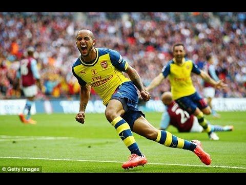 Arsenal vs  Aston Villa 4-0 FA Cup Final 2014/15 All Goals