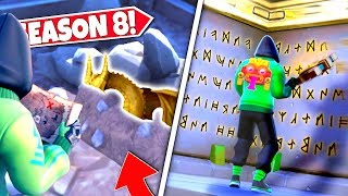 *NEW* HIDDEN BURIED STATUE *UNCOVERED* WARNING PLAYERS OF AN INCOMING ANCIENT BEAST! SEASON 8 UPDATE