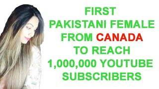 1 Million Subscribers Celebration by (HUMA IN THE KITCHEN)