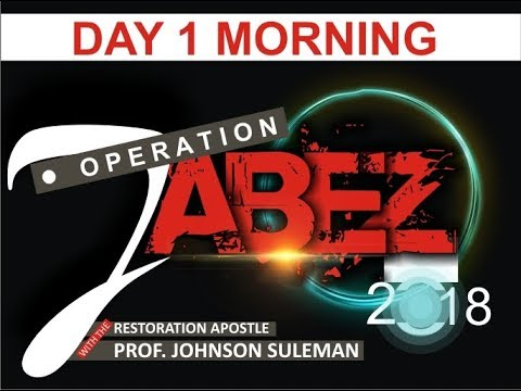 Operation Jabez, 28th Dec 2018. LIVE with Apostle Johnson Suleman