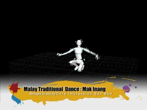 Mak inang : Malay Traditional Dance (Motion Capture)