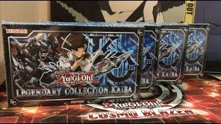 Opening Four Legendary Collection Kaiba Yugioh Boxes Awesome Pulls!