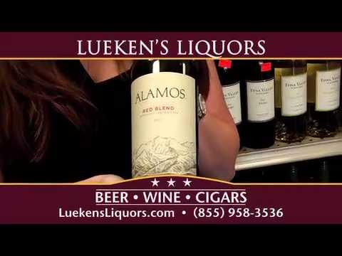 Gascon Malbec, Alamos Red Blend Wine Tastings at Lueken's Liquors 10/24/13