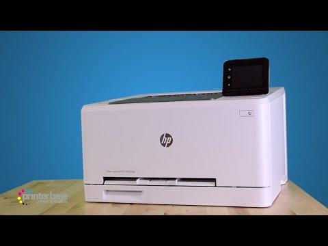 HP LaserJet Pro M252dw Colour Laser Printer Review | printerbase.co.uk