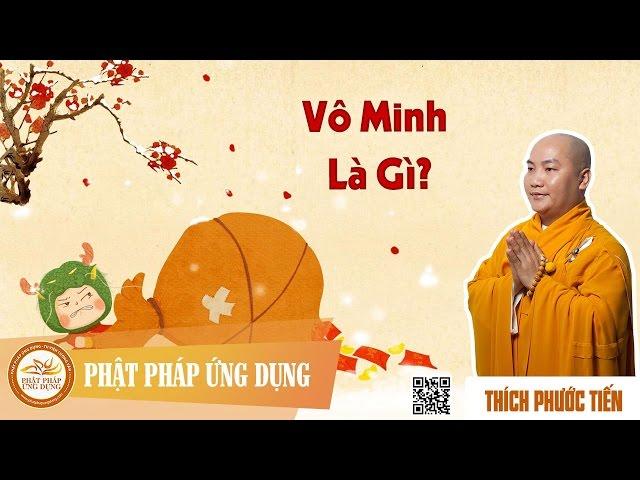Vô Minh Là Gì – Thầy Thích Phước Tiến thuyết pháp