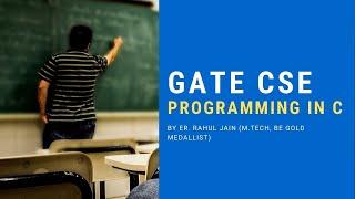Programming In C | MCQs for GATE CS, ISRO, BARC & All CS/IT Exams