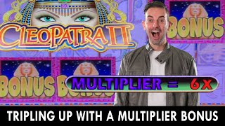 💰 Tripling Up On Cleopatra II With Sexy Multipliers  💰