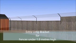 ProtectaPet Cat Fence And Cat Enclosure Bespoke CAD Demonstration