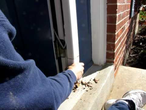 Home Door Frame Repair - Replacing Rotten Wood